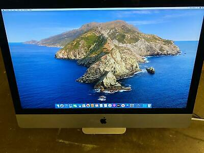 Apple 27-Inch Retina iMac 24GB Ram 5k 3.7Ghz i5 6-core 2TB Fusion 2019 LCD Crack