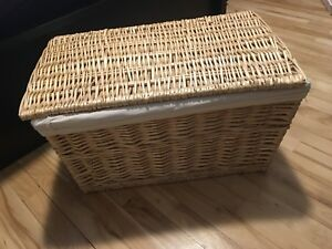 Wicker Storage/ Laundry Hamper