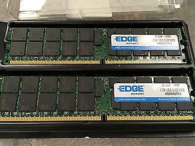 Edge Memory 8GB PC2-6400 ECC DDR2 SDRAM DIMM Kit PE22437002 ✅❤️️✅❤️️ NEW