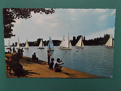 VINTAGE OULTON BROAD SUFFOLK OLD USED POSTCARD COLLECTORS 1974 THE BROADS