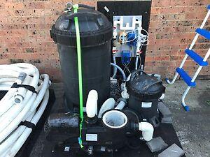Pool Pump + Cartridge Filter + Chlorinators Berkeley Vale Wyong Area Preview
