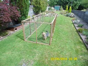 12 aviary panels kennel run  chicken  ducklings rabbits guinea  cat dog pets