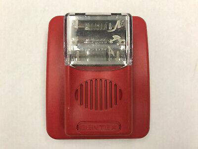Gentex Gec24-15wr75wr110wr Hornstrobe Fire Alarm Wall Mount Red