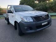2013 Toyota Hilux Workmate 4x2 Auto Neutral Bay North Sydney Area Preview