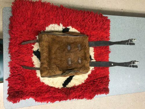 German WWII Fur Trimmed Backpack