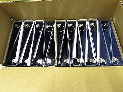 Vinyl Binders 1.51-12 Round 3 Ring 11 X 8 Sheet Size Boxlot Of 18nib