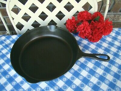 Griswold Erie Cast Iron #8 Large Slant Logo Skillet With Heat Ring