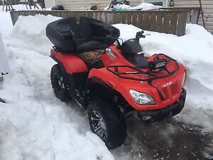 2014 arctic cat 400 with only 1600km