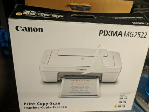 Canon PIXMA MG2522 Wired All-in-One Color Inkjet Printer wit