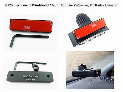 Permanent Windshield Mount For The Valentine V1 Radar Detector Gen1 & Gen2 Model