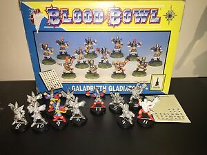 Blood Bowl Galadrieth Gladiators (High Elf Team) in box