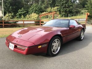 89 Chevrolet Corvette ( Collectors Plates )