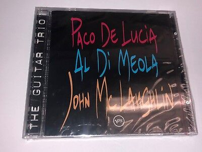 The Guitar Trio: Paco de Lucia/Al di Meola/John McLaughlin CD Verve NEW BMG