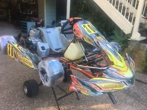 Monaco TAG 125 race Kart with IAME X30 Inc extras and spares