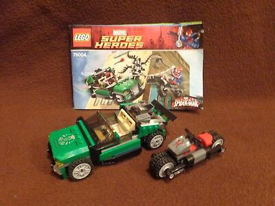 LEGO Super Heroes Ultimate Spider-Man 76004 Spider-Man: Spider-Cycle Chase