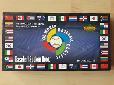 Upper Deck 2006 World Baseball Classic boxed Set! + Bonus! Jeter, Ortiz, Griffey