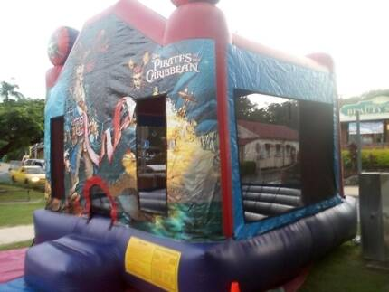 Jumping castle hire Pirates Mermaid Waters Gold Coast City Preview