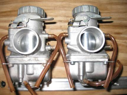 Mikuni, Pair of 36mm VM Round Slide Carbs Dakabin Pine Rivers Area Preview
