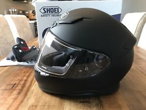 Shoei RF-1200 Motorcycle Helmet (Small) - Matte Black