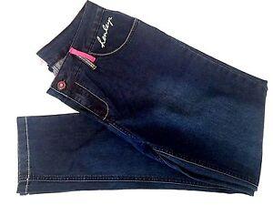 New Womens Henleys Skinny Fit Stretch Jeans DarkWash 14S Waist34