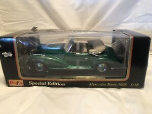 MAISTO SPECIAL EDITION MERCEDES BENZ 300S 1/18 SCALE