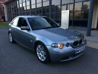 BMW 325 COMPACT TI M SPORT auto 34000 miles fsh 3 owner in excellent condition