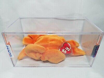 Ty Beanie Baby Orange Digger 1st