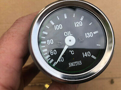 Stack 60-150 °C Oil Temperature Gauge 52mm Electrical Black Face 3209