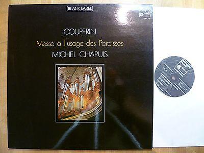 LP, Couperin, Messe à lúsage des Paroisses, Michel Chapuis, Harmonia Mundi, NM