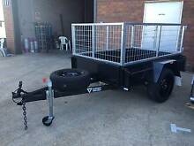 6x4 Heavy Duty Box Trailer with Removable Cage Carrum Downs Frankston Area Preview