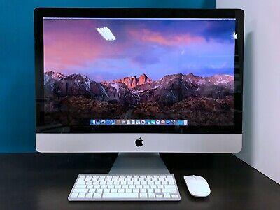 Apple iMac 27 Desktop All-In-One / 3.8GHZ QUAD CORE i7 TURBO / 1TB / 16GB RAM