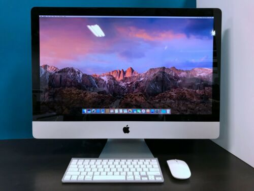 Apple iMac 27 Desktop All-In-One / 3.8GHZ QUAD CORE i7 TURBO / 1TB / 16GB RAM