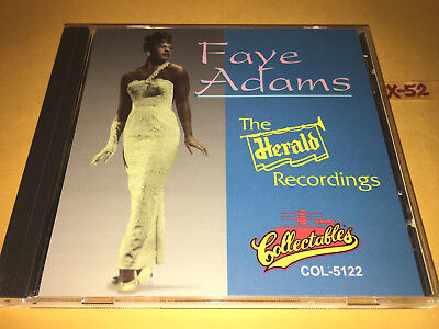 FAYE ADAMS Cd HERALD RECORDINGS Hits SHAKE A HAND Hammer SAY A PRAYER Everyday - $14.99