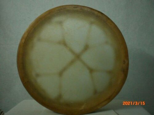 Hand Drum, Native American Style, 17 inch