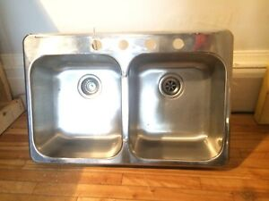 Double Sink for Kitchen