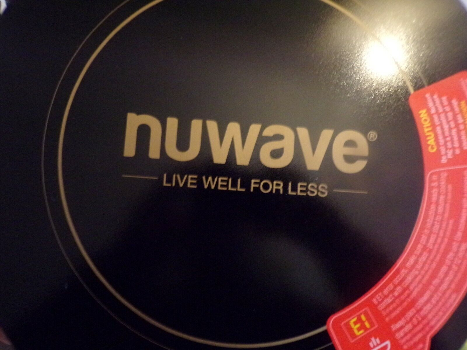 Nuwave Pic Gold Precision Induction Portable Cooktop Only Mo