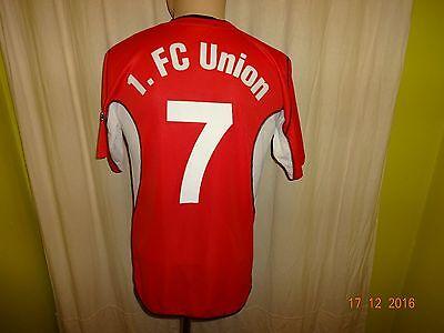 1.FC Union Berlin saller Junior/Amateur Matchworn Trikot 2002/03 + Nr.7 Gr.S- M image