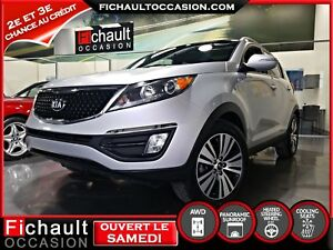 KIA Sportage 2015 EX LUXE AWD *** CUIR*** TOIT PANORAMIQUE***
