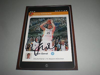 Anton Gavel  Basketball signed signiert autograph Autogramm auf Autogrammkarte