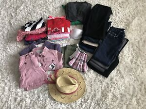 Lot of girls clothes various sizes, brand names, some new