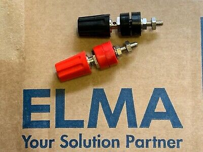 x2 Replacements for 4mm Swiss Elma HQ High Quality terminal binding posts