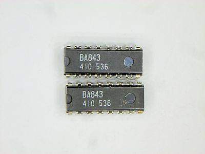 Ba843 Original Rohm 16p Dip Ic 2 Pcs