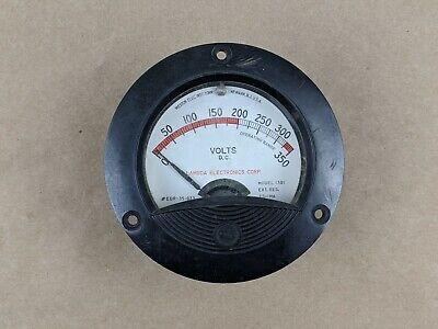 Vintage Lambda Weston 3.5 Panel Meter Dc Volts Range 0-350 Model 1301