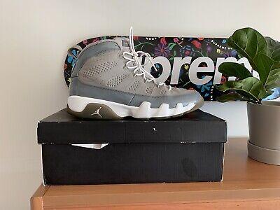 Air Jordan 9 Cool Grey Size 10.5