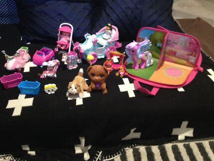 Girls toys bulk lot