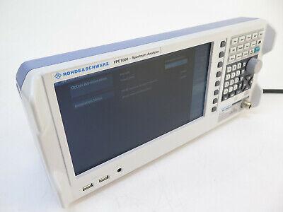 Rohde Schwarz Fpc1000 Spectrum Analyzer 1ghz Fpc-b22 Preamplifier Fpc-k55