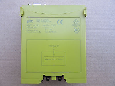 Pilz 773721 Profibus-dp Pnoz Mc 3p New Free Shipping