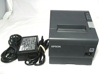 Epson Tm-t88v M244a Pos Thermal Receipt Printer Usb With Power Adapter
