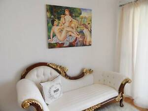 Art Artpiece Artwork Painting Framed Painted Hamptons French Chic
