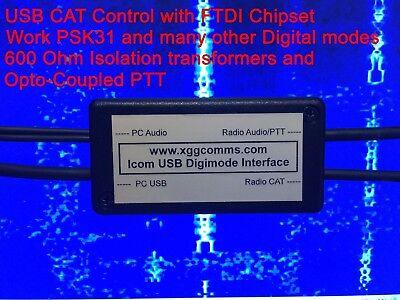 Wouxon X5105 USB CAT Digimode, PSK and Echolink Interface - full CAT control